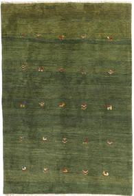 Gabbeh Persia Matto 149X217 Moderni Käsinsolmittu Tummanvihreä/Oliivinvihreä (Villa, Persia/Iran)