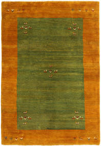 Gabbeh Persia Rug 170X245 Authentic  Modern Handknotted Dark Green/Orange (Wool, Persia/Iran)