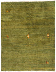 Gabbeh Persia Rug 150X197 Authentic  Modern Handknotted Dark Green/Olive Green (Wool, Persia/Iran)