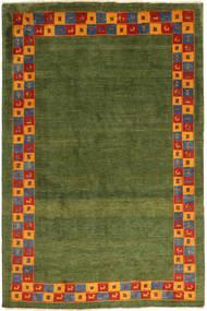 Gabbeh Persia Rug 200X295 Authentic  Modern Handknotted Dark Green/Olive Green (Wool, Persia/Iran)