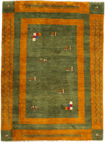 Gabbeh Persia Rug 170X229 Authentic  Modern Handknotted Dark Green/Rust Red (Wool, Persia/Iran)