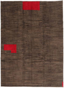 Gabbeh Persia Rug 174X234 Authentic  Modern Handknotted Dark Brown/Brown (Wool, Persia/Iran)