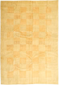 Gabbeh Persia Rug 206X295 Authentic  Modern Handknotted Yellow/Light Brown (Wool, Persia/Iran)