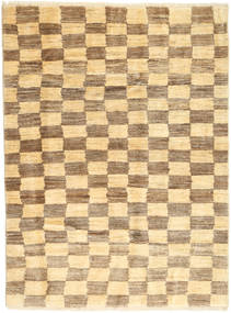 Gabbeh Persia Rug 116X154 Authentic  Modern Handknotted Light Brown/Light Pink (Wool, Persia/Iran)
