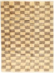 Gabbeh Persia Matto 116X154 Moderni Käsinsolmittu Vaaleanruskea/Vaaleanpunainen (Villa, Persia/Iran)