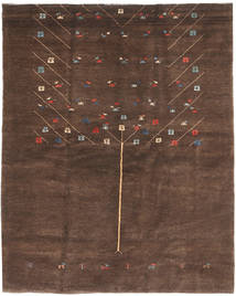 Gabbeh Persia Rug 157X198 Authentic  Modern Handknotted Light Brown/Dark Brown/Brown (Wool, Persia/Iran)