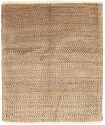 Gabbeh Persia Rug 94X110 Authentic  Modern Handknotted Light Brown/Beige (Wool, Persia/Iran)