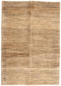 Gabbeh Persia Rug 96X136 Authentic  Modern Handknotted Light Brown/Dark Beige (Wool, Persia/Iran)