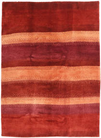 Gabbeh Persia Rug 158X207 Authentic  Modern Handknotted Rust Red/Orange/Dark Red (Wool, Persia/Iran)