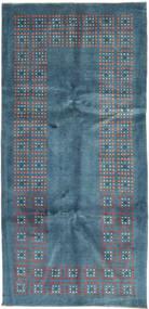Gabbeh Persia Rug 100X207 Authentic  Modern Handknotted Blue/Dark Blue (Wool, Persia/Iran)