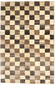 Gabbeh Persia Rug 110X172 Authentic  Modern Handknotted Brown/Beige (Wool, Persia/Iran)