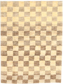 Gabbeh Persia Rug 117X158 Authentic  Modern Handknotted Light Brown/Yellow/Dark Beige (Wool, Persia/Iran)