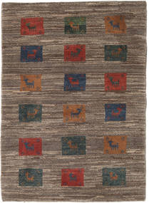 Gabbeh Persia Rug 84X118 Authentic  Modern Handknotted Brown/Dark Brown (Wool, Persia/Iran)