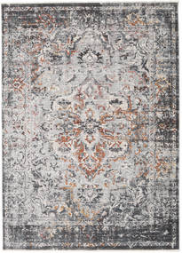 Megrez - Dark Grey / Rust rug RVD19447