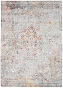 Megrez - Light Grey / Rust rug RVD19455