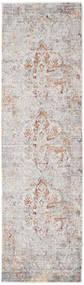 Megrez - Light Grey / Rust rug RVD19454
