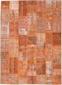 Patchwork Rug 272X372 Authentic  Modern Handknotted Light Brown/Orange Large (Wool, Turkey)