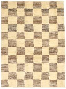 Gabbeh Persia Rug 116X157 Authentic  Modern Handknotted Beige/Light Brown/Dark Beige (Wool, Persia/Iran)