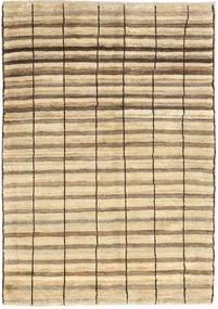 Gabbeh (Persja) Dywan 98X136 Nowoczesny Tkany Ręcznie Beżowy/Jasnobrązowy (Wełna, Persja/Iran)