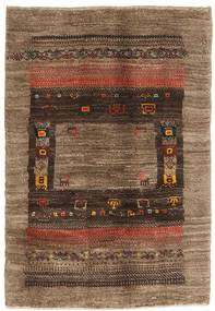 Gabbeh Persia Rug 82X119 Authentic  Modern Handknotted Brown/Dark Brown/Light Brown (Wool, Persia/Iran)