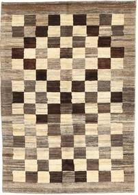 Gabbeh Persia Rug 112X161 Authentic  Modern Handknotted Light Brown/Beige (Wool, Persia/Iran)