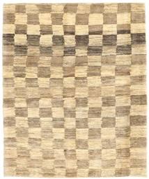 Gabbeh Persia Rug 123X151 Authentic  Modern Handknotted Light Brown/Yellow/Dark Beige (Wool, Persia/Iran)