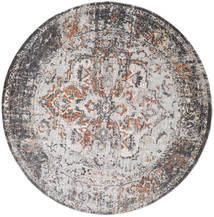 Megrez - Dunkel grau / Rost Teppich RVD19450