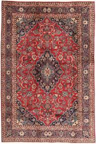 Mashad Rug 190X288 Authentic  Oriental Handknotted Brown/Dark Red (Wool, Persia/Iran)