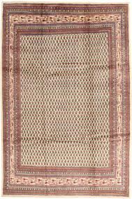Sarough Mir Vloerkleed 214X323 Echt Oosters Handgeknoopt Lichtbruin/Bruin (Wol, Perzië/Iran)