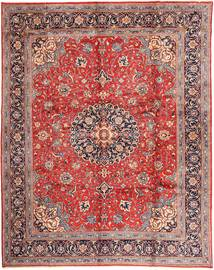 Mahal Rug 305X392 Authentic  Oriental Handknotted Dark Red/Purple Large (Wool, Persia/Iran)