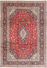 Keshan Matto 240X350 Itämainen Käsinsolmittu Tummanpunainen/Vaaleanruskea (Villa, Persia/Iran)