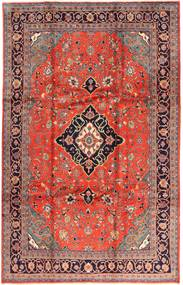 Arak Rug 227X354 Authentic  Oriental Handknotted Rust Red/Dark Brown (Wool, Persia/Iran)