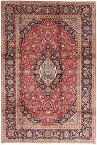 Keshan Rug 200X300 Authentic  Oriental Handknotted Dark Red/Dark Brown (Wool, Persia/Iran)