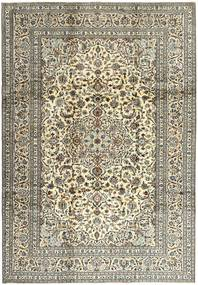 Keshan Rug 240X345 Authentic  Oriental Handknotted Light Grey/Dark Grey (Wool, Persia/Iran)