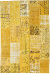 Patchwork Rug 202X298 Authentic  Modern Handknotted Yellow (Wool, Turkey)
