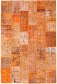 Patchwork Rug 202X302 Authentic  Modern Handknotted Orange/Light Brown (Wool, Turkey)