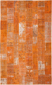 Patchwork Rug 306X503 Authentic  Modern Handknotted Orange/Light Brown Large (Wool, Turkey)