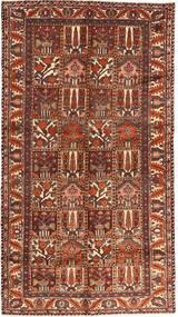 バクティアリ 絨毯 162X297 オリエンタル 手織り 濃い茶色/深紅色の (ウール, ペルシャ/イラン)