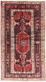 Nahavand Tapis 120X220 D'orient Fait Main Rouge Foncé/Marron (Laine, Perse/Iran)
