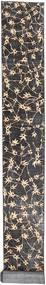Colored Vintage Rug 70X830 Authentic  Modern Handknotted Hallway Runner  Dark Grey/Dark Brown (Wool, Persia/Iran)