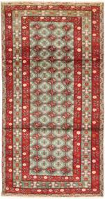 Abadeh Dywan 107X207 Orientalny Tkany Ręcznie Ciemnoczerwony/Rdzawy/Czerwony (Wełna, Persja/Iran)