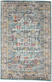 Chillon - Light Blue/Multi Rug 200X300 Modern Dark Grey/Light Grey ( Turkey)