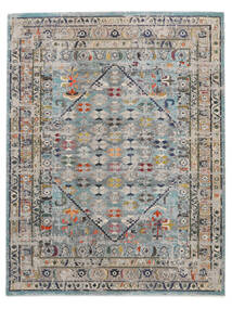 Chillon - Light Blue/Multi Rug 240X300 Modern Light Grey/Dark Grey ( Turkey)