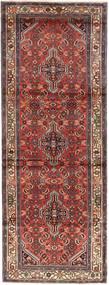 Hamadan Alfombra 108X300 Oriental Hecha A Mano Rojo Oscuro/Marrón (Lana, Persia/Irán)