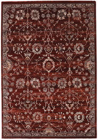 Zanjan - Dark_Wine Rug 160X230 Modern Dark Red/Dark Brown ( Turkey)