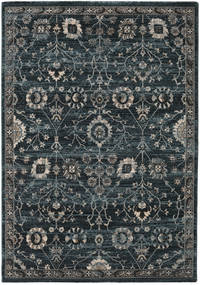 Zanjan - Dark Green Rug 160X230 Modern Black/Dark Grey ( Turkey)