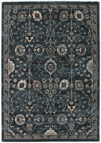 Zanjan - Dark Green Rug 140X200 Modern Dark Grey/Black ( Turkey)