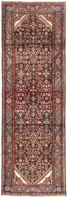 Hamadan Matto 105X313 Itämainen Käsinsolmittu Käytävämatto Vaaleanruskea/Tummanruskea (Villa, Persia/Iran)