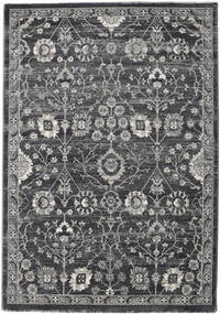 Zanjan - Dark Grey Rug 140X200 Modern Dark Grey/Light Grey ( Turkey)