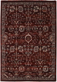Zanjan - Dark_Wine Tappeto 140X200 Moderno Marrone Scuro/Rosso Scuro ( Turchia)